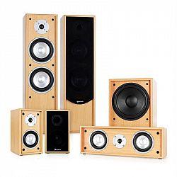 Auna 5.1 zvukový systém k domácemu kinu Linie-300-BH, buk