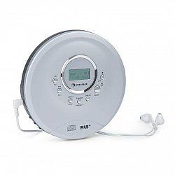 Auna CDC 200 DAB+, diskman, DAB+/FM, MP3 CD, akumulátor, LC displej