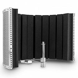 Auna Pro MP32 MKII, strieborný, mikrofónový absorbčný panel, vrátane adaptérav