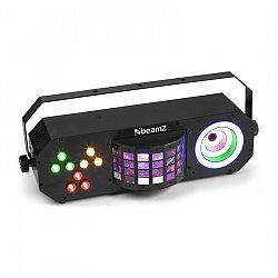 Beamz LightBox 3, párty efekt, par/derby/visual ring efekt, RGBAW-UV, čierny