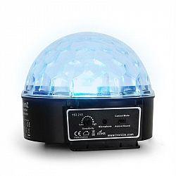 Beamz Mini Star Ball, RGBWA, LED, 6 x 3 W, hudobný mod