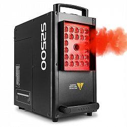 Beamz S2500 výrobník hmly 2500W 24x10W 4-in1-LEDs DMX 3,5L nádrž