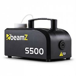 Beamz S500 nová edícia, 500 W, dymostroj, 50 m³, 250 ml hmlovej tekutiny