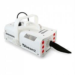 Beamz SNOW 900 LED, 900 W, biely, snehostroj sLED svetlami 3 v 1, 1 l nádrž, diaľkové ovládanie