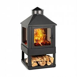 Blumfeldt Macondo, ohnisko, nádoba na oheň, 35 x 35 cm, uzavretá, oceľ, čierna
