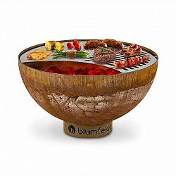 Blumfeldt Savage, ohnisko s grilom, Ø: 60,5 cm, oceľ, vrátane ochrany pred poveternostnými podmienkami, hrdzavá