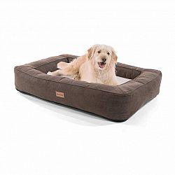 Brunolie Bruno, pelech pre psa, kôš pre psa, možnosť prania, ortopedický, protišmykový, priedušný, pamäťová pena, veľkosť L (100 × 17 × 70 cm)