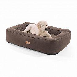 Brunolie Bruno, pelech pre psa, kôš pre psa, možnosť prania, ortopedický, protišmykový, priedušný, pamäťová pena, veľkosť M (80 × 17 × 55 cm)