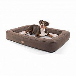 Brunolie Bruno, pelech pre psa, kôš pre psa, možnosť prania, ortopedický, protišmykový, priedušný, pamäťová pena, veľkosť XL (120 × 17 × 85 cm)