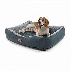 Brunolie Emma, pelech pre psa, kôš pre psa, možnosť prania, protišmykový, priedušný, obojstranný matrac, vankúš, veľkosť M (80 × 20 × 70 cm)