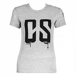 Capital Sports Beforce, veľkosť XS, sivé, tréningové tričko, dámske