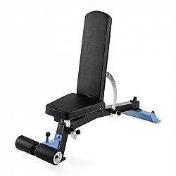 Capital Sports Compactar Plus, lavica pre tréning s činkami a ľah-sedy, kov, prispôsobiteľná