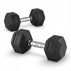 Capital Sports Hexbell 22,5, 22,5kg, krátkoručná činka (dumbbell)