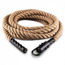 Capital Sports Power Rope, 12m/3,8cm, kyvadlové lano s hákmi, stropné pripevnenie