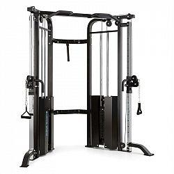 Capital Sports Xtrakter, 2 x 90kg, čierna, posilňovacia premostená veža s dvomi kladkami, oceľ