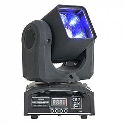 Ibiza LMH410Z, otočná hlava, pohyblivá hlavica, Moving Head, 4 x 10 W LED RGBW 4 v1, Zoom, DMX