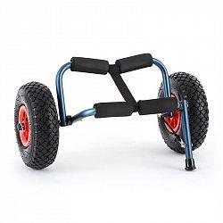KLARFIT Sea Mule BL, modrý, vozík na kajak, podpera, hliník, eloxovaný, skladací