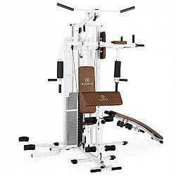 KLARFIT Ultimate Gym 5000, biela, multifunkčná fitnes stanica