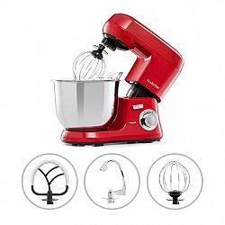 Klarstein Bella Robusta Metal, kuchynský robot, 1200 W, 6 úrovní výkonu, 5,5 l, červený
