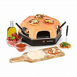 Klarstein Capricciosa, rúra na pečenie pizze, 1500 W, kryt z terakoty, funkcia udržiavania teploty