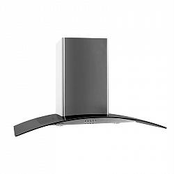 Klarstein GL90WSB komínový digestor, 90 cm, 490 m3/h, nerezová oceľ