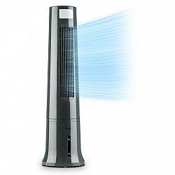 Klarstein Highrise, ochladzovač vzduchu, ventilátor, zvlhčovač vzduchu, 40 W, 2.5 l, chladiaca náplň, šedý