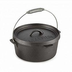 Klarstein Hotrod 85, liatinový hrniec, BBQ hrniec, 9 qt/8.5 l, liatina, čierny