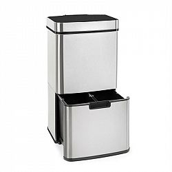 Klarstein Touchless, odpadkový kôš, senzor, 72 l, 4 nádoby, ABS/PP/ušľachtilá oceľ