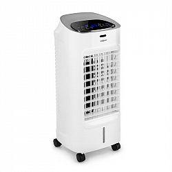 OneConcept Coolster, ochladzovač vzduchu, ventilátor, ionizátor, 65 W, 320 m³/h , 4 l nádrž, biely