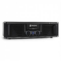 PA zosilňovač Skytec AMP 1500, 2400W, čierny koncový zosilňo