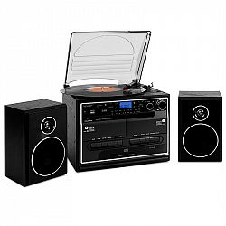 Stereo zariadenie Auna 388-BT, gramofón, magnetofón